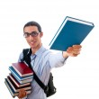 Education concept with student — Stock Photo #6837914