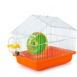 Bird cage isolated on the white background — Stock Photo