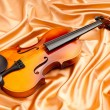 Music concept with violin — Stock Photo #6844124