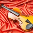 Music concept with violin — Stock Photo