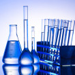 Chemical lab with glass tubing — Stock Photo #6844439