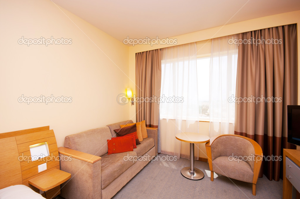 Comfortable room in the hotel  Stock Photo #6842746