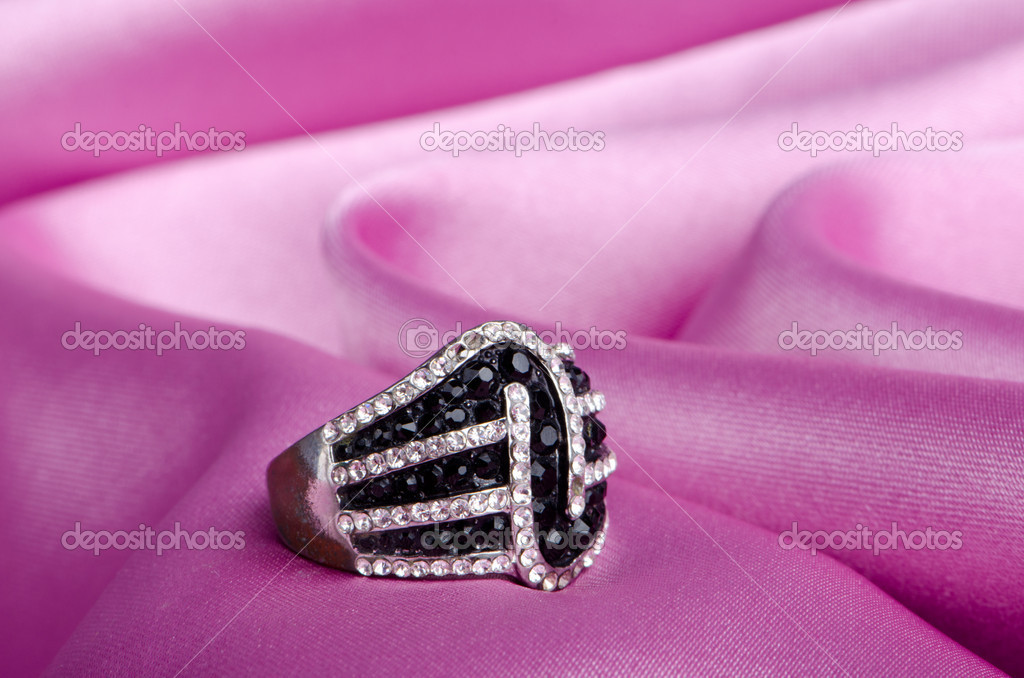 Fashion concept with ring on background  Stock Photo #6843380