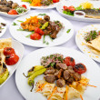 Party meals on table — Stock Photo #6883142