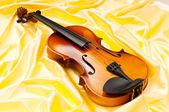 музыкальная концепция со скрипкой — Стоковое фото