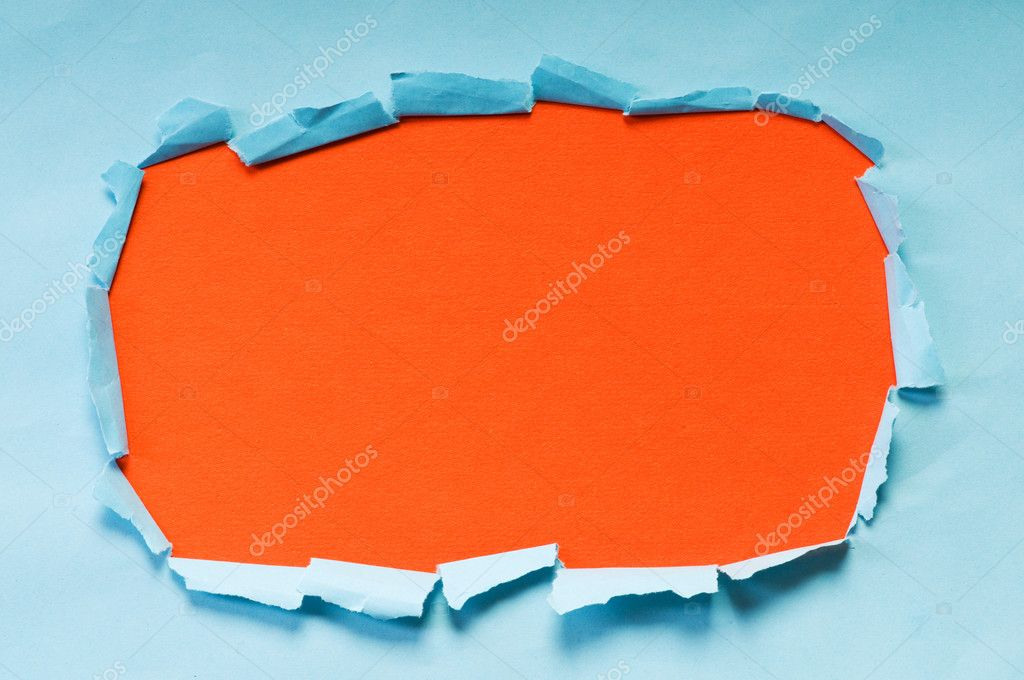 Space for your message on torn paper — Stock Photo #6885959