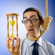 Man with noose around his neck — Stock Photo #7107488