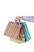 Conceito de compras de natal com sacos — Foto Stock