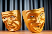 Masker med begreppet theatre — Stockfoto