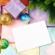 Festive concept for your message — Stock Photo