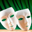 Royalty-Free Stock Photo: Masks with theatre concept