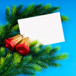 Stock Photo: Festive concept for your message