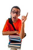 Education concept with student — Stock Photo