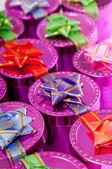 Cajas de regalo en concepto de celebración — Foto de Stock