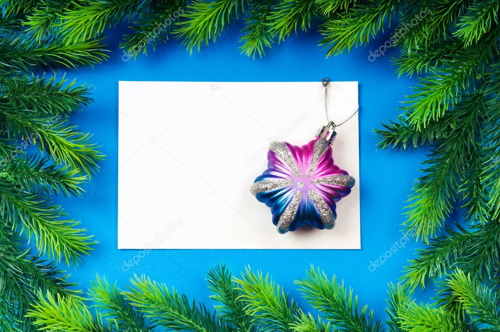 Festive concept for your message  Stock Photo #7135755