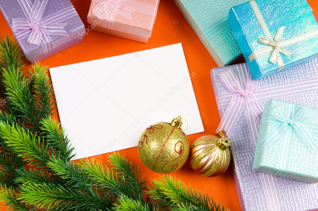 Festive concept for your message  Stock Photo #7137733