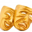 Masks with the theatre concept — Stock Photo #7208893