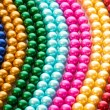 Abstract with colourful pearl necklaces — Stock Photo #7208901