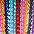 Abstract with colourful pearl necklaces — Stock Photo #7309189