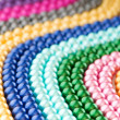 Abstract with colourful pearl necklaces — Stock Photo #7309335