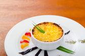Mushroom en cocotte - frech cuisine — Stock Photo