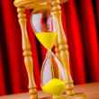Time concept with hour glass — Stock Photo #7384531