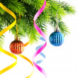 Christmas decoration on the white — Stock Photo #7385741