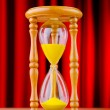 Time concept with hour glass — Stock Photo #7515743