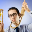 Man with noose around his neck — Stock Photo #7518030