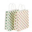 Shopping bags isolated on white - Foto de Stock  