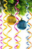 Decoração de natal de férias em branco — Fotografia Stock