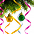 Christmas decoration on the white — Stockfoto #7549276
