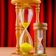 Time concept with hour glass — Stock Photo #7549279