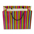 Shopping concept with bag on white — Foto de Stock