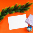 Festive concept for your message — Stock Photo #7551597