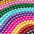 Abstract with colourful pearl necklaces — Foto de Stock