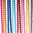 Abstract with colourful pearl necklaces — Stock Photo #7552315