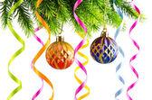 Decoração de natal de férias em branco — Foto Stock