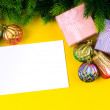 Festive concept for your message — Stock Photo #7866707