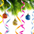 Christmas decoration on the white — Stock Photo #7870365