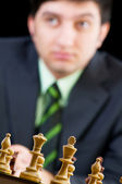 FIDE Grand Master Vugar Gashimov (World Rank - 12) from Azerbaij — Foto de Stock