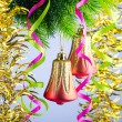 Baubles on christmas tree in celebration concept — Stock Photo #7897969