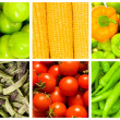 Set of various fruit and vegetables — Stock Photo #7902273