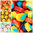 Collage of various sweets — Stock Photo #7902674