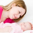 Mother and the small child — Stock Photo
