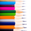 Stock Photo: Color pencils background