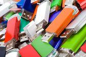 USB flash memory — Stock Photo