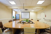 Business meeting room in office — Stok fotoğraf