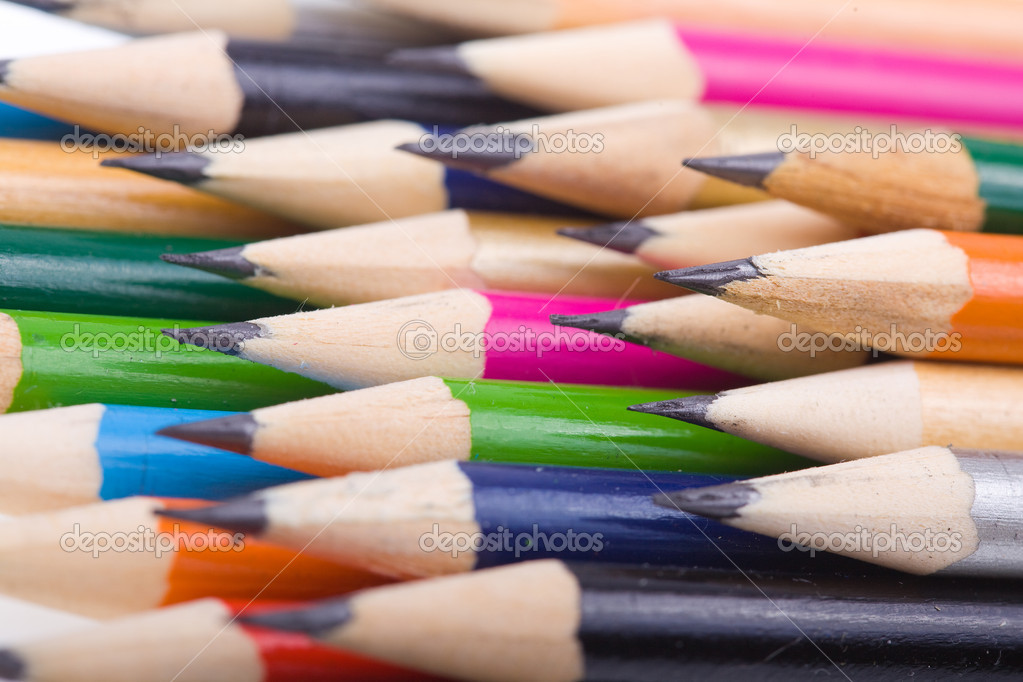 Set of color pencils  Stock Photo #7870860