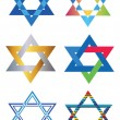 Vector star of david — Stock Vector